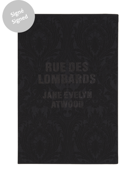 Rue des Lombards - Signed book